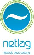 logo netlag parties :: by Donovan Ludwig